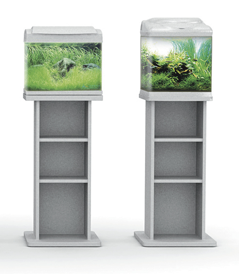 aquariums meubles aquariums sf aqua 60 meuble argente pour. Black Bedroom Furniture Sets. Home Design Ideas