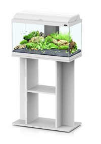 aquadream meuble 60x30x70cm blanc aquariums