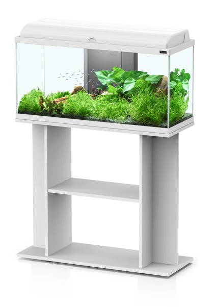 aquadream meuble 80x30x70cm blanc aquariums
